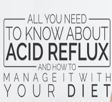 Acid reflux and dietary recommendations